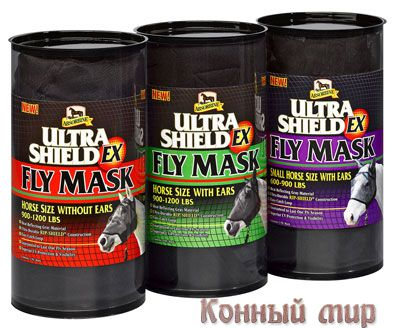 Маска UltraShield® Fly Masks w/Rip Shield 430155